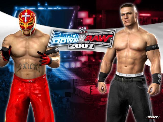 WWE-Smackdown-VS-Raw-2007-Rey-Mysterio-vs-john-cena