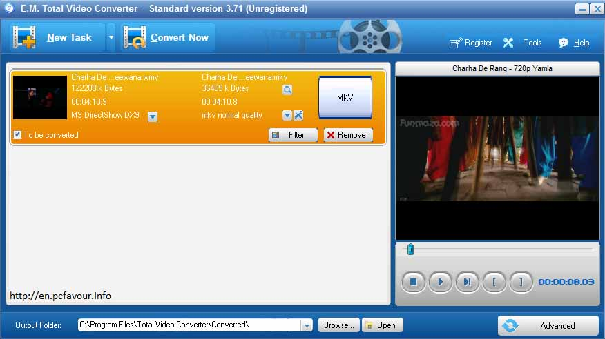 E.M-Total-Video-Converter-screenshot