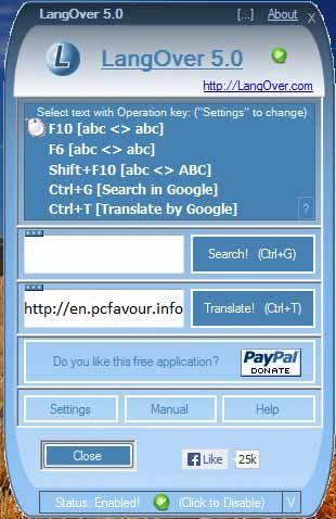 LangOver-screenshot