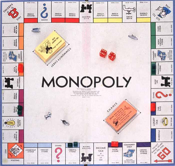 Monopoly Board Game Screenshot