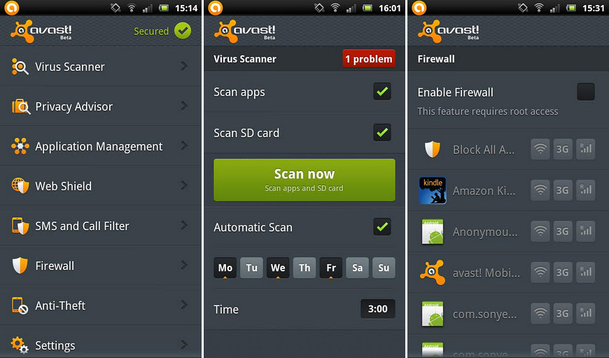 Avast Mobile Security 2.0.4808