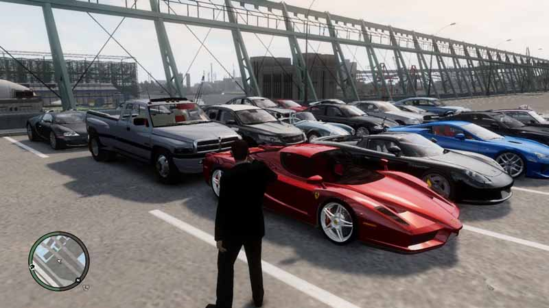 GTA IV Ultimate Vehicle Pack Game