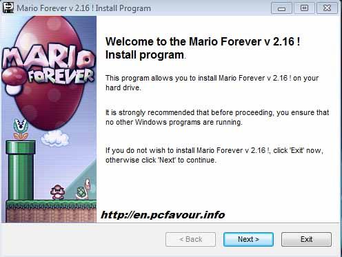 Mario-forever-screenshot