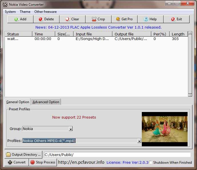 Nokia-Video-Converter-screenshot
