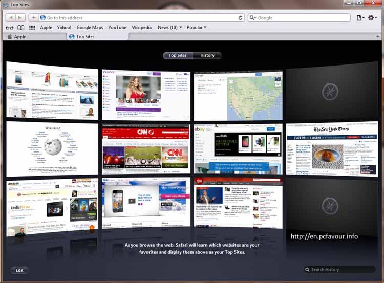 Safari-screenshot