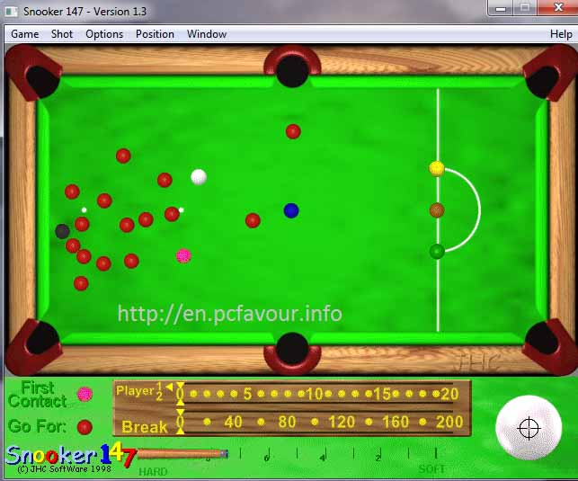 Snooker 147 Game