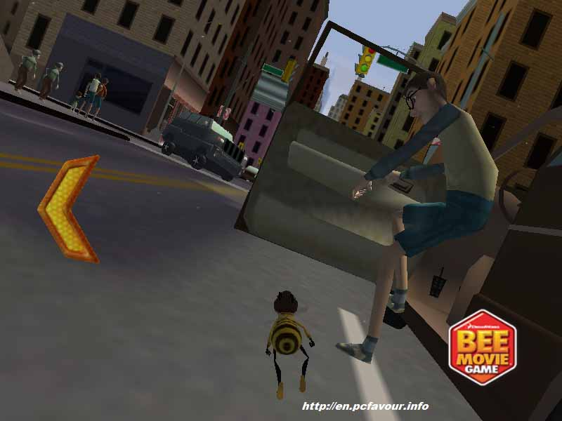 Bee-Movie-Game-screenshot