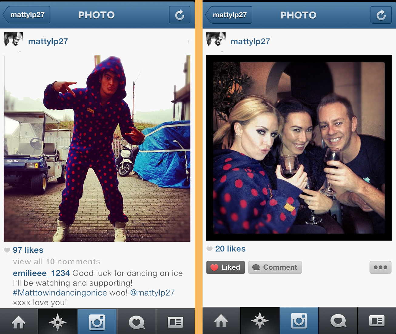 how to delete instagram pictures on pc