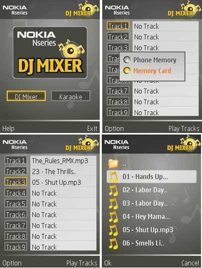 Nokia-DJ-Mixer-screenshot