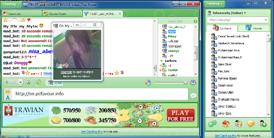 WatFile.com Download Free Camfrog Video Chat is multipurpose messenger and open video chat