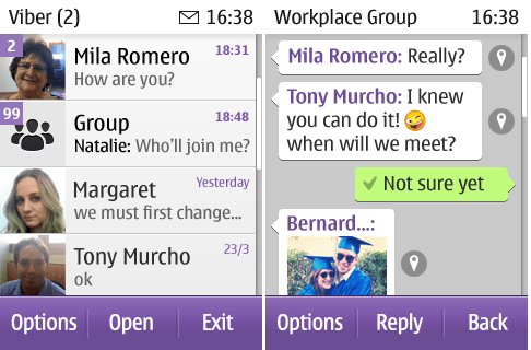 Viber-symbian-screenshot