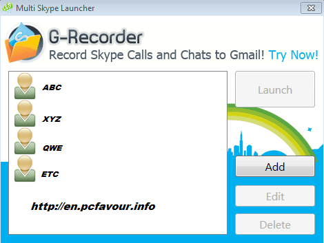 Multi-Skype-Launcher-screenshot