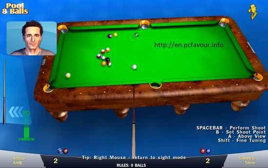 Pool-8-Balls-3D-Game-screenshot