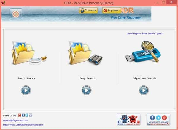 DDR-Pen-Drive-Recovery-screenshot