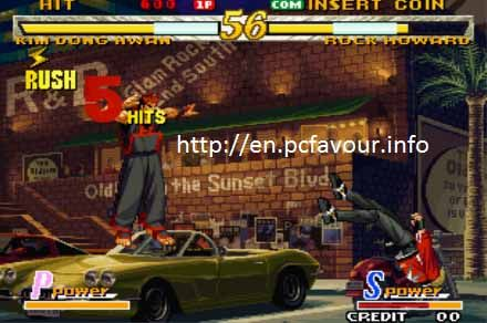 Garou-Mark-of-the-Wolves-Game-screenshot