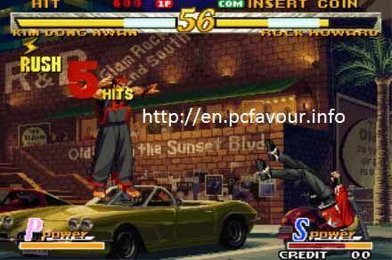 Garou-Mark-of-the-Wolves-Game-screenshot