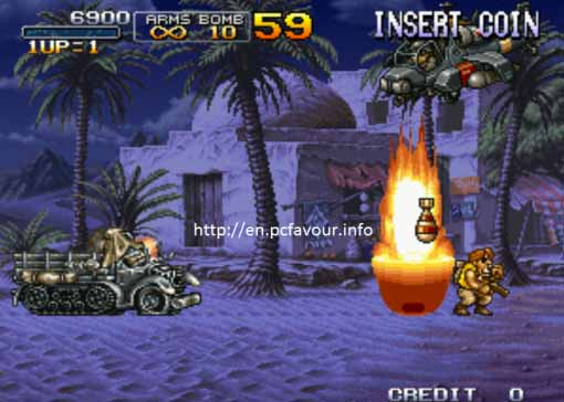 Metal-Slug-X-Game-screenshot