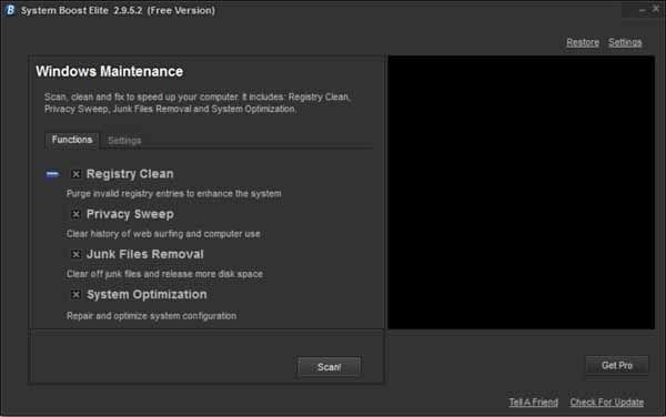 System-boot-elite-screenshot