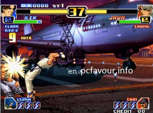 The-King-of-Fighters-99-Game-screenshot