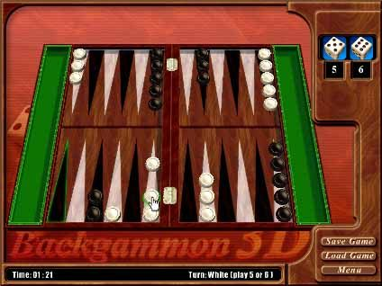 Real-Backgammon-3D-game-screenshot