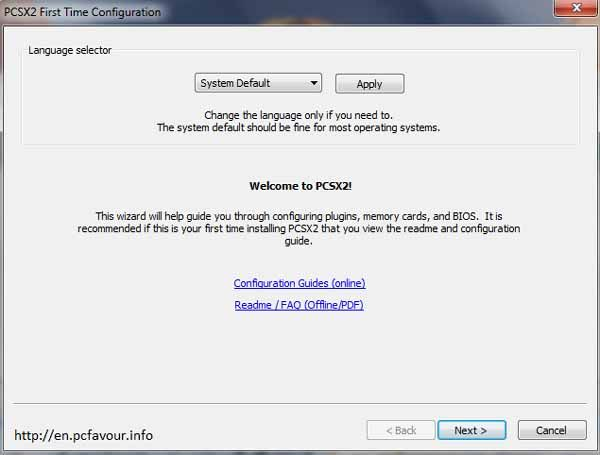 PlayStation2-Emulator-screenshot