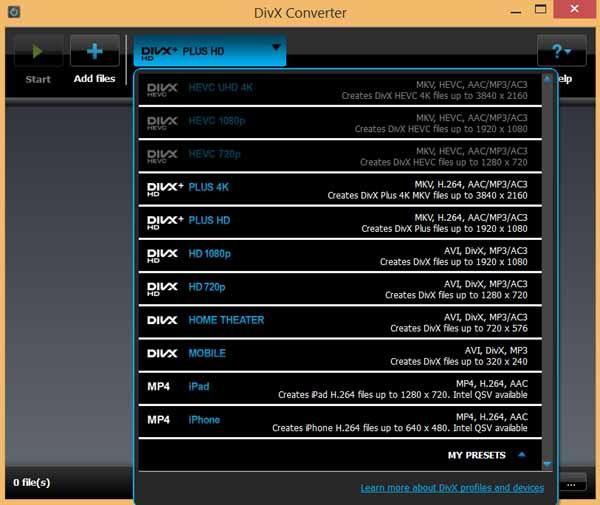 Divx-Coverter-screenshot