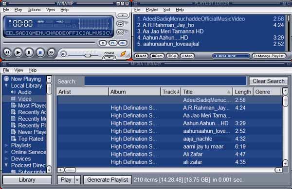 Winamp-download