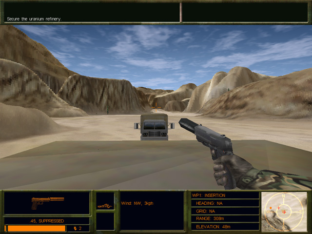 Delta Force 2 Game screenshot