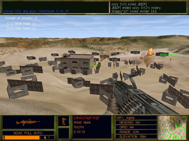 Delta Force 2 pc game snapshot