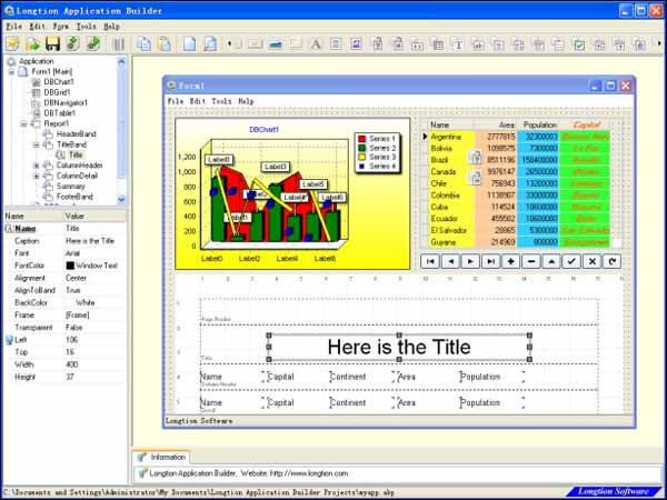 Longtion-application-builder-screenshot-download
