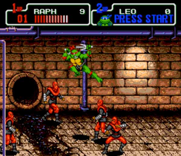 Teenage Mutant Ninja Turtles Game Download