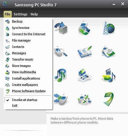 Samsung-PC-Studio-screenshot-download