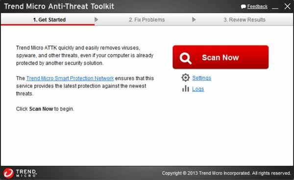 Trend-Micro-Anti-Threat-Toolkit-screenshot-download