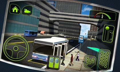 Bus Driver 3D screenshot1