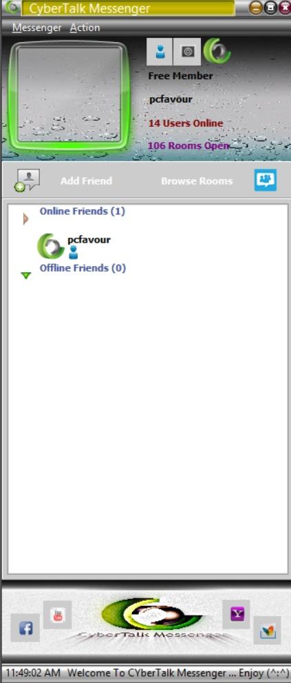 CyberTalk Messenger Beta Screenshot3
