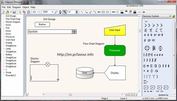 Diagram designer download latest version diagram designer screenshot ccuart Choice Image