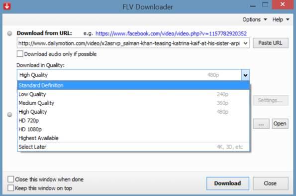 FLV_Downloader_screenshot