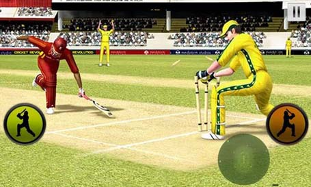 Play cricket world cup 2015 gameplay1