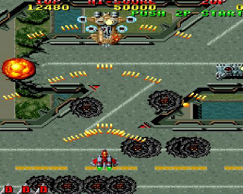 Raiden PC Game Screenshot2