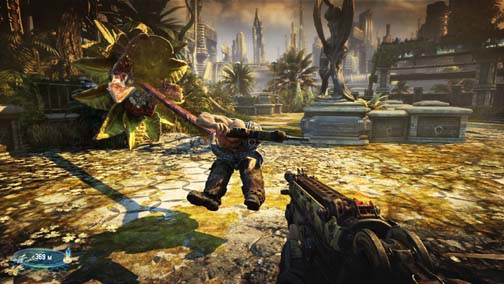bulletstorm gameplay 3