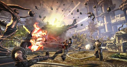 bulletstorm gameplay 4