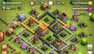 clash of clans gameplay1