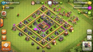 clash of clans gameplay2