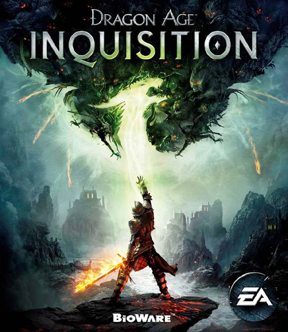 dragon age inquisition dvd cover