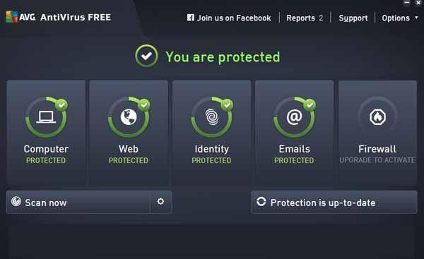 عملاق الحماية الفيروسات Antivirus Free