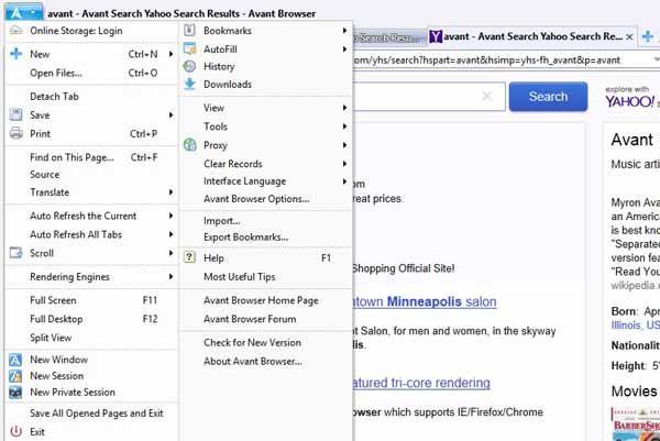 Avant-browser-screenshot