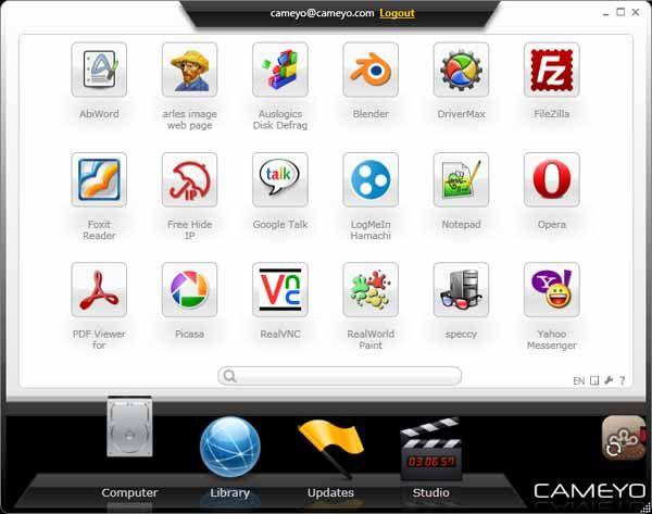 Cameyo-Screenshot