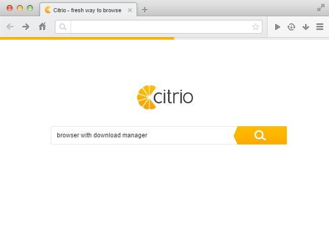 Citrio-browser-screenshot