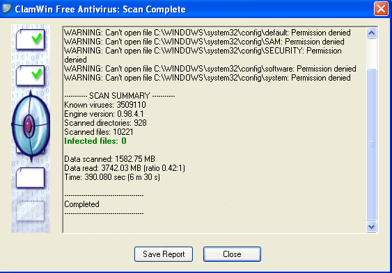 ClamWin-Free-Antivirus-screenshot