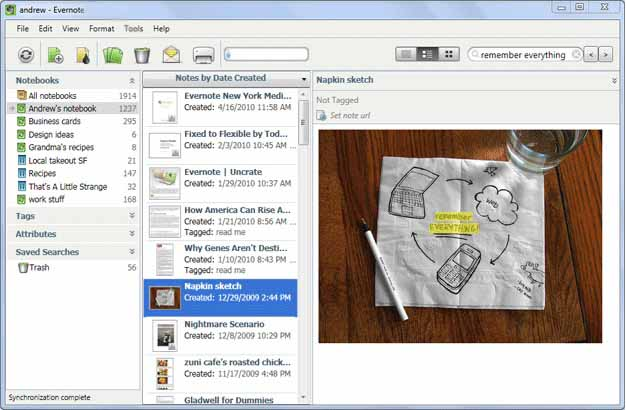 Evernote-download